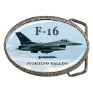 F16 Fighting Falcon Belt Buckle