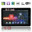 10.2 inch Android 2.3 Multi-Point Resistance Screen WIFI HDMI GPS Tablet PC- Silvery