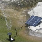 New Solar Power Fountain Pool Water Pump Garden Watering 7V 1.12W