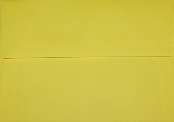 A7 Envelopes: Yellow (set of 100)