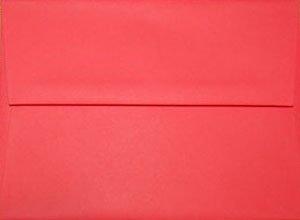 A2 Envelopes: Red (set of 100)