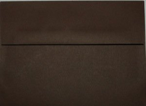 A2 Envelopes: Chocolate Brown (set of 100)
