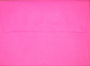 A7 Envelopes: Hot Pink (set of 100)