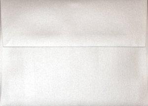 A2 Envelopes: Silver Metallic (set of 100)
