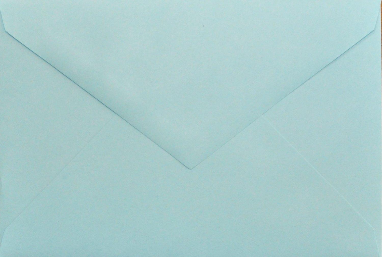 4x6 Photo Card Envelopes: Light Blue (set of 100)