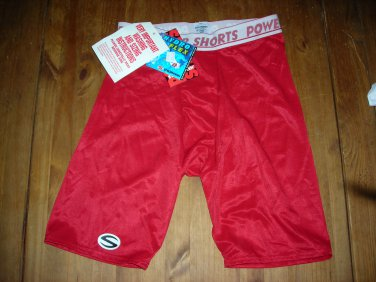 Stromgren Hydro Flex Mens Power Shorts,size XL,38=40 Red