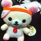 San-X Rilakkuma - Korilakkuma Wearing Visor Plush