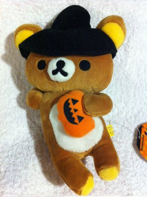 San-X Rilakkuma - Rilakkuma Wearing Witch Hat Plush