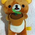 San-X Rilakkuma - Rilakkuma Holding Plant Plush