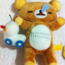 San-X Rilakkuma - Rilakkuma with Toy Car Plush