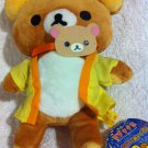 San-X Rilakkuma - Rilakkuma Wearing Yellow Yukata Plush