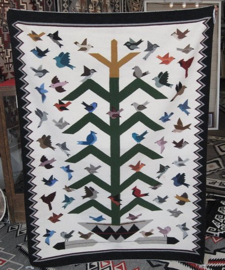 Tree of Life Rug - Lena Begay