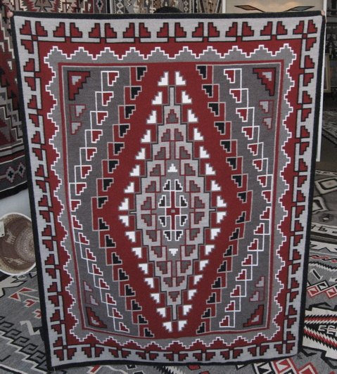 Ganado Red Rug - Alice Begay