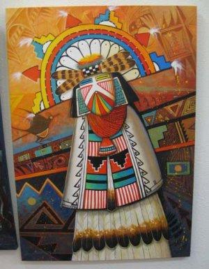 Hopi Shalako Mana - JC Black