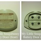 NEW Fisher Price Replacement  My Little Snugabunny Swing Battery Cover/Door