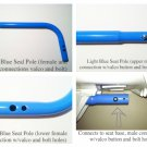 Fisher Price Replacement Aquarium Cradle Swing Lower Seat Arm/POLE Part in Blue