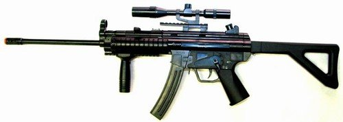 MP5 Sniper With Scope & Sling *FREE* Safety Glasses