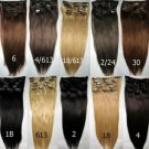 15&#39;&#39; 70g Clip in Extensions HUMAN HAIR remi