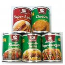 Wothington Vegetarian/Vegan Canned Meats Variety Set #1