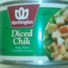 Diced Chik Alternative to Chicken