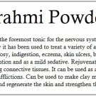 Brahmi Powder