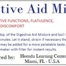Digestive Aid Mixture