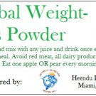Herbal Weightloss Powder