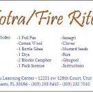 Agnihotra/Fire Ritual Kit