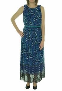 Signature by Robbie Bee Belted Women's Sleeveless Maxi Dress Size 4, NWT