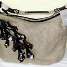 NOAH Josephine Large Hobo Khaki Brown Handbag NWT