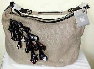 NOAH Josephine Large Hobo Khaki Brown Handbag NWT