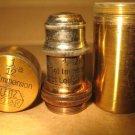 Old Leitz 1/12a Microscope Oil Objective w/Brass Case