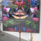 Iron-framed Lance Patigian Southwestern Kaleidoscope Abstract #2
