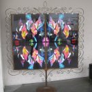 Iron-framed Lance Patigian Southwestern Kaleidoscope Abstract #1