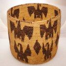 Huge American Indian Eagle Basket!