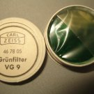 Zeiss VG 9 32mm Green Filter 46 78 05 NOS