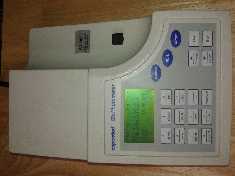 Eppendorf Biophotometer 6131