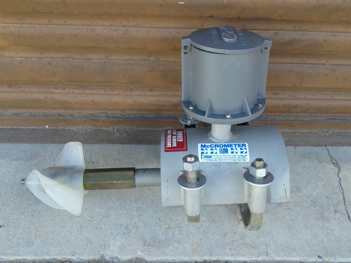 """McCometer 6"""" MO300 Bolt-on Flowmeter"""