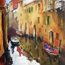 Venice - landscape watercolor art print