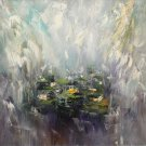 Water Lilies- original oil painting by Georgi Petrov