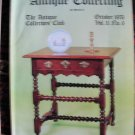 Antique Collecting Vol. 11, No. 6, October 1976