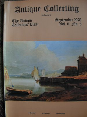 Antique Collecting Vol. 11, No. 5, September 1976