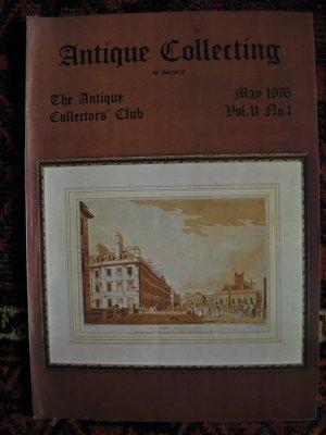 Antique Collecting Vol. 11, No. 1, May 1976
