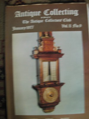 Antique Collecting Vol. 11, No. 9, January 1977