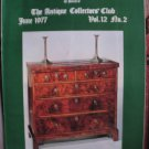 Antique Collecting Vol. 12, No. 2, June 1977