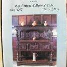 Antique Collecting Vol. 12, No. 3, July 1977