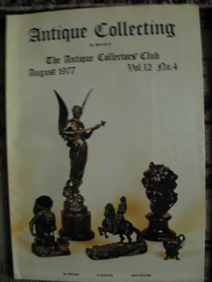 Antique Collecting Vol. 12, No. 4, August 1977