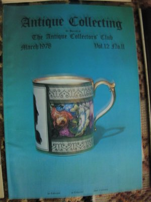 Antique Collecting Vol. 12, No. 11, March 1978