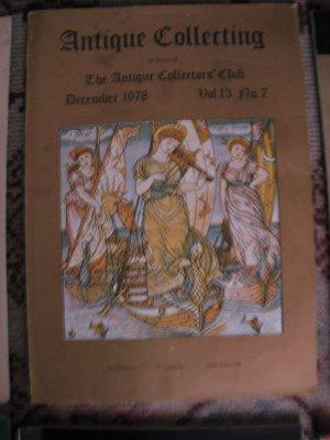 Antique Collecting Vol. 13, No. 7, December 1978