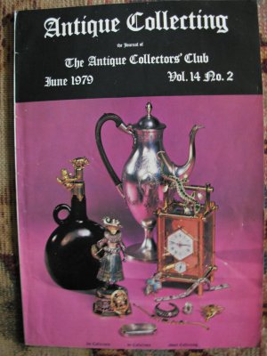 Antique Collecting Vol. 14, No. 2, June 1979